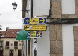 サンティアゴ デ コンポステーラの巡礼路:カミノ フランチェーズとスペイン北部の道