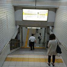 長堀鶴見緑地線京橋駅入口