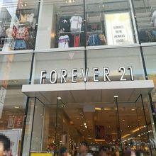 Forever21 (大阪道頓堀店)
