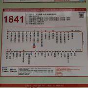 時間はかかるけれど國光客運1841