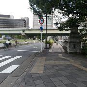 中ノ島公会堂横の橋です