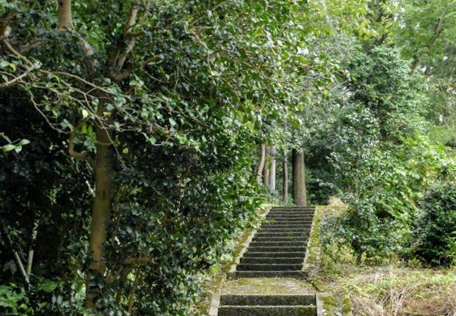 山の寺遊歩道