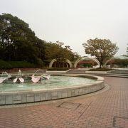 とても手入れのよい公園