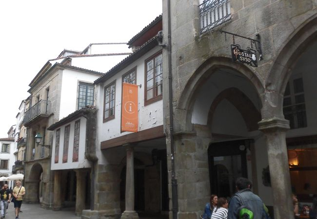 サンティアゴ デ コンポステーラ観光案内所