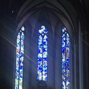 マインツ聖シュテファン教会のシャガールのステンドグラス