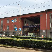 大きな鉄道駅