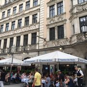 マリエンプラッツの有名レストラン