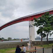 見所の多い東京湾を臨む公園