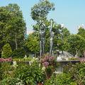 写真:泉の像