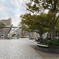 写真:千葉駅前大通り (中央公園プロムナード)