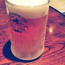 冷え冷えの生ビール