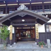 西洋式の建物だが、総檜造りとのこと。