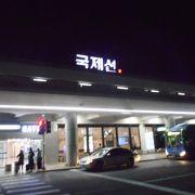 濃厚な感じの建物の空港でした。