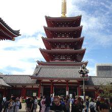 浅草寺 五重塔