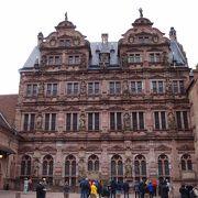 ハイデルベルクのシンボルの古城です