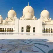 憧れのシェイクザイードモスク