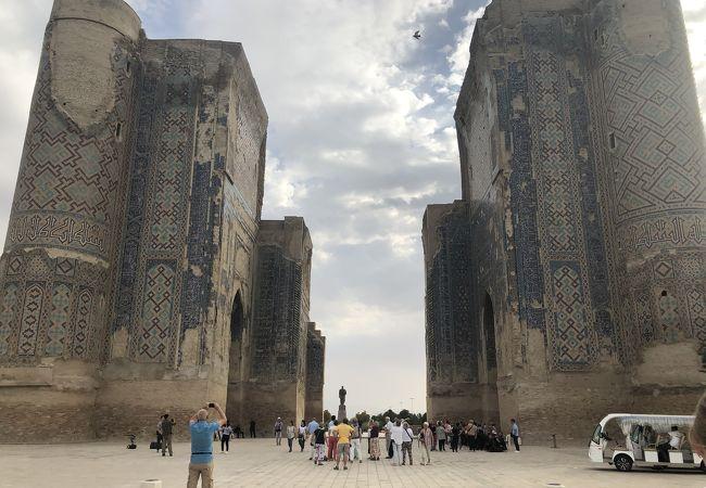ティムールが残した最大の建築物