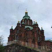西ヨーロッパ最大のロシア正教寺院らしい