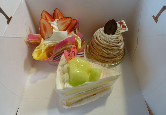 洋菓子倶楽部エーデルワイス