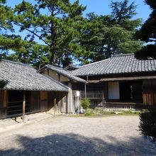萩の世界遺産の一つ「吉田松陰幽囚旧宅」