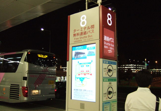 羽田空港ターミナル間無料連絡バス