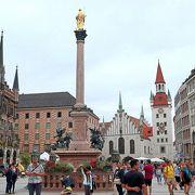 ミュンヘン観光の中心スポット
