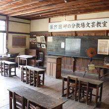 高峯秀子主演映画のロケ地、「二十四の瞳映画村」に行く途中にあります。