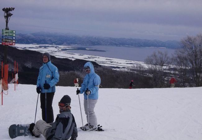 福島県一のスキー場