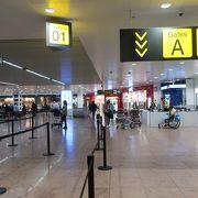 日本の地方空港を思わせる