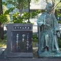 写真:石川啄木歌碑