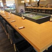 いけすわろうだ。ホテルシーモア1階のレストラン。ランチは予約不要でクエ料理が食べられます。
