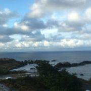 ホテル大佐渡からの眺望