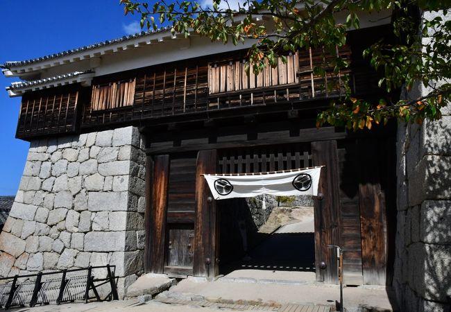 松山城 隠門続櫓