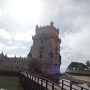 16世紀 テージョ川河口を守るための要塞