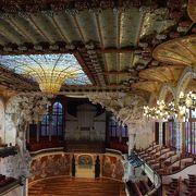 カタルーニャ音楽堂 ピアノコンサート付きツアーに参加してみました