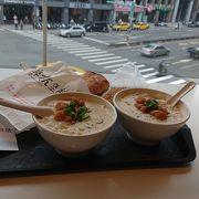 台北で朝食