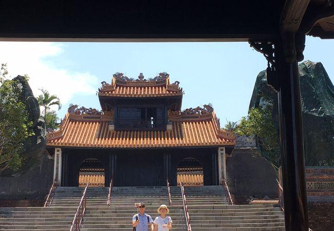 中華要素たっぷりのミンマン帝廟