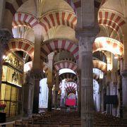 イスラムとカトリックが融合した不思議な空間