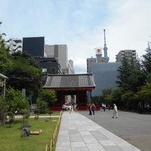 浅草寺東門