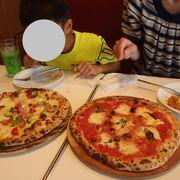 アウトレット内のイタリアンレストラン