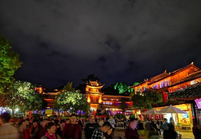 麗江古城の人気スポット