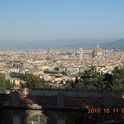 ミケランジェロ広場よりも景色がいい