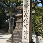 博多駅近くの住吉神社