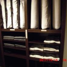 浴衣や枕はフロントフロアで選べます