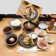 港区でもリーズナブルに天ぷら定食を