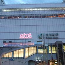 大井町駅の駅ビル