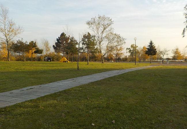 南幌町三重緑地公園キャンプ場