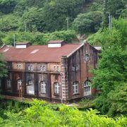 鉱山のあと地の公園です。