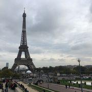 やっぱり、パリのシンボル!