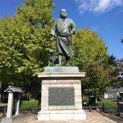 上野公園のシンボル像